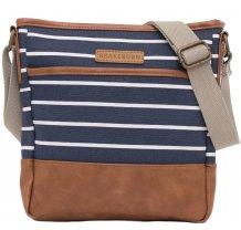 Crossbody kabelka Brakeburn Stripe - modrá