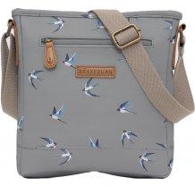 Crossbody kabelka Brakeburn Swallows - šedá