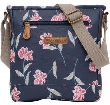 Crossbody kabelka Brakeburn Summer Bloom - modrá