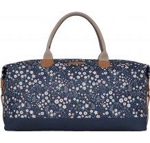Víkendová taška Brakeburn Flower Weekend - modrá