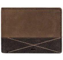Pánská kožená peněženka Quiksilver EQYAA03516 - hnědá