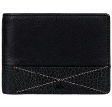Pánská kožená peněženka Quiksilver EQYAA03516 - černá