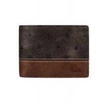 Pánská kožená peněženka Quiksilver EQYAA03562 - hnědá