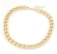 Zlatý řetěz na krk