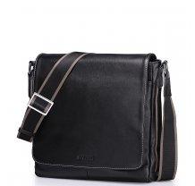 Pánská taška kožená přes rameno Sammons Top Grade černá