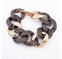 Plastikový řetěz na ruku v černé barvě
