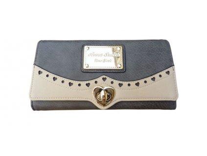 Dívčí peněženka Anna Smith šedá