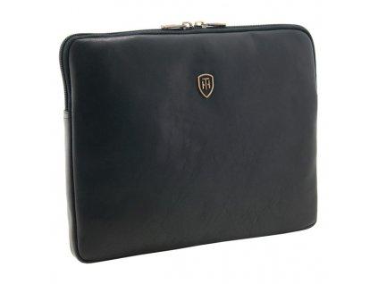 Luxusní kožené pouzdro na Ipad Tumble & Hide černé