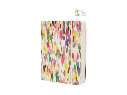 Designový barevný zápisník A6