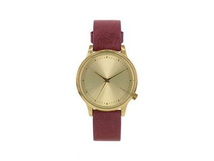 Dámské hodinky Komono vínové Estelle Classic