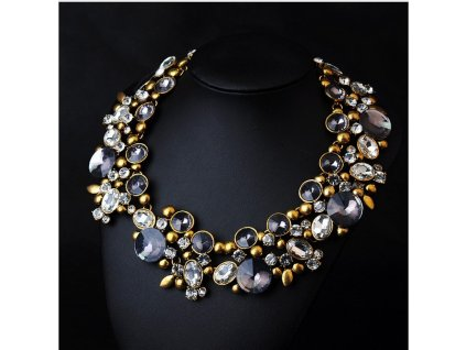 Originální náhrdelník s kamínky - Bagisimo