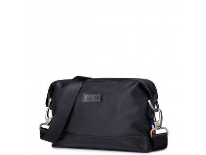 Pánská příruční taška přes rameno Sammons černá - Bagisimo