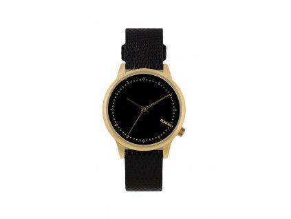 Dámské hodinky černé Komono Estelle Monte Carlo Lizard