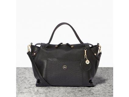 Velká dámská kabelka přes rameno Nica černá