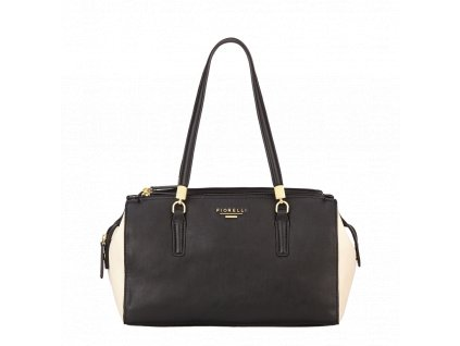 Černobílá kabelka přes rameno Fiorelli - Quadro Collection