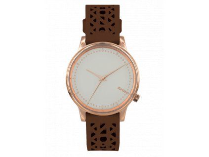 Dámské hodinky hnědé Komono Estelle Cotout