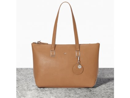 Elegantní kabelka Nica - Hnědá