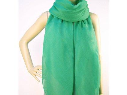 Šátek Plain Green