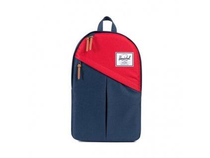 """Batoh Herschel Parker 15"""" červeno modrý"""