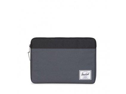 "Pouzdro na Macbook 15"" Herschel Anchor tmavě šedý"