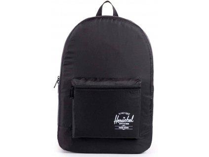 Batoh Herschel skládací Black - speciální kolekce Daypack