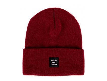 cepice abott benie headwear cervena red