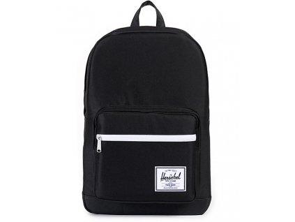 Herschel Supply Co. Pop Quiz Black & Black 22L Backpack 269583 front US