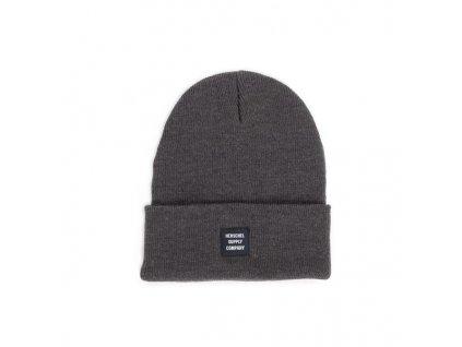 Zimní čepice Herschel Abott tmavě šedá