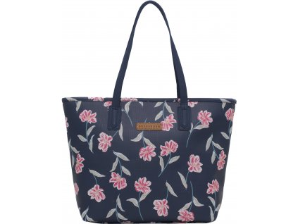 kabelka pres rameno brakeburn summer bloom modra