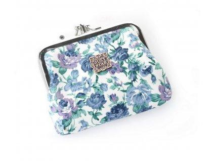 Dámská látková peněženka na mince Just Star modrá