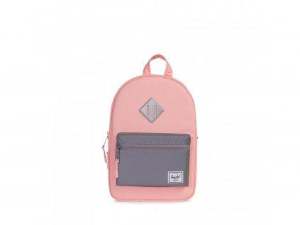 Dětský batoh Herschel Heritage K - Světle růžový s reflexní kapsou
