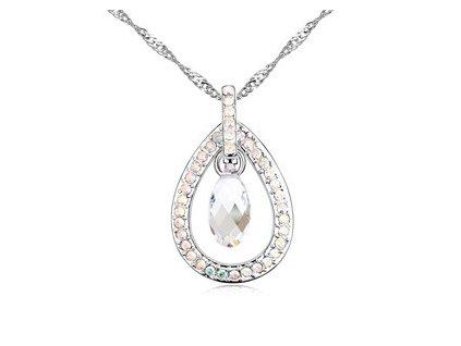Elegantní náhrdelník Swarovski Elements Crystal