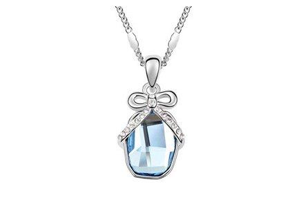 Řetízek s mašličkou Swarovski Elements Crystal