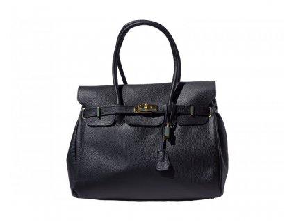 Italská kabelka Black