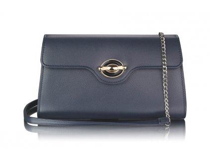 Tmavě modrá kabelka přes rameno