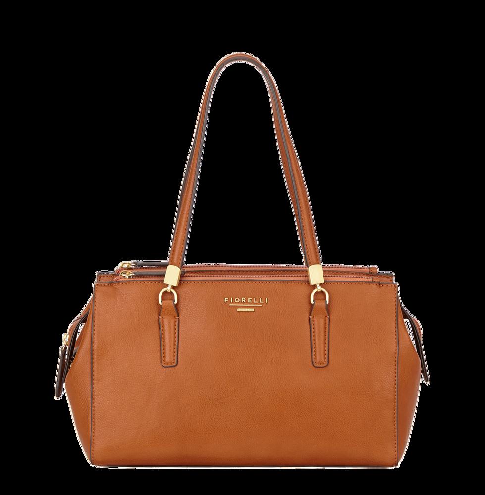 Hnědá kabelka přes rameno Fiorelli - Quadro Collection