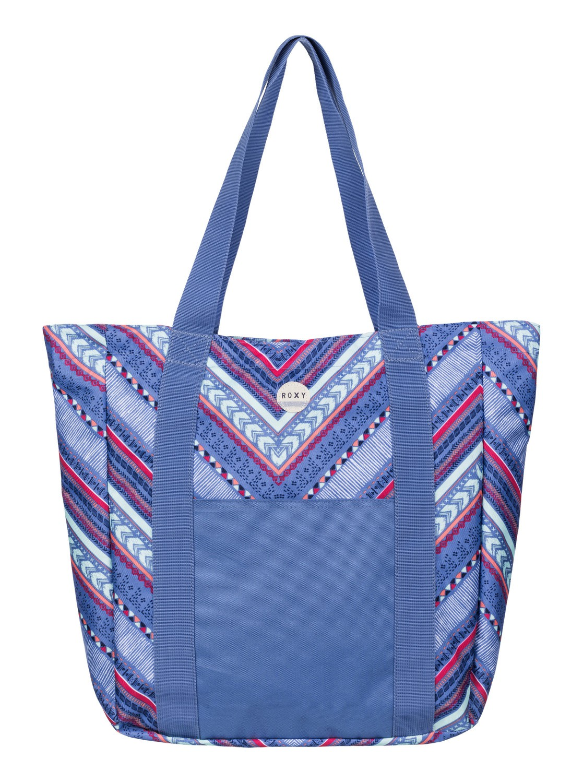 Velká dámská taška přes rameno Roxy Quicksand modrá