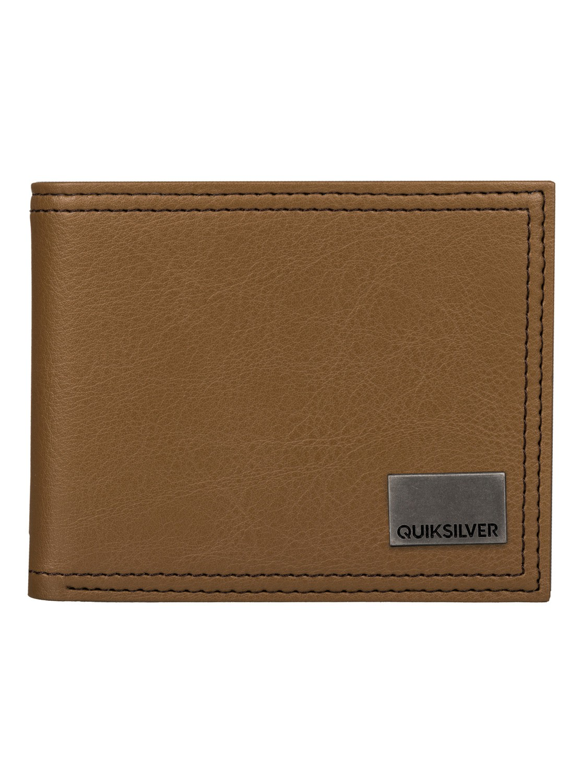 Pánská peněženka Stitched Quiksilver hnědá