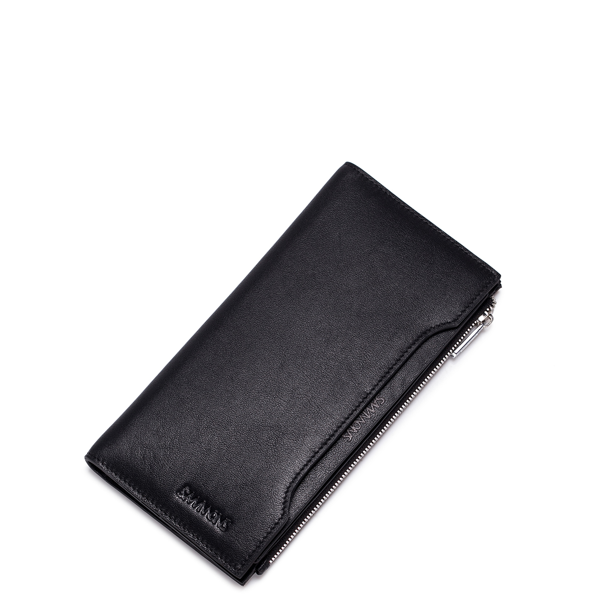 Velká pánská kožená peněženka Sammons Elegance černá