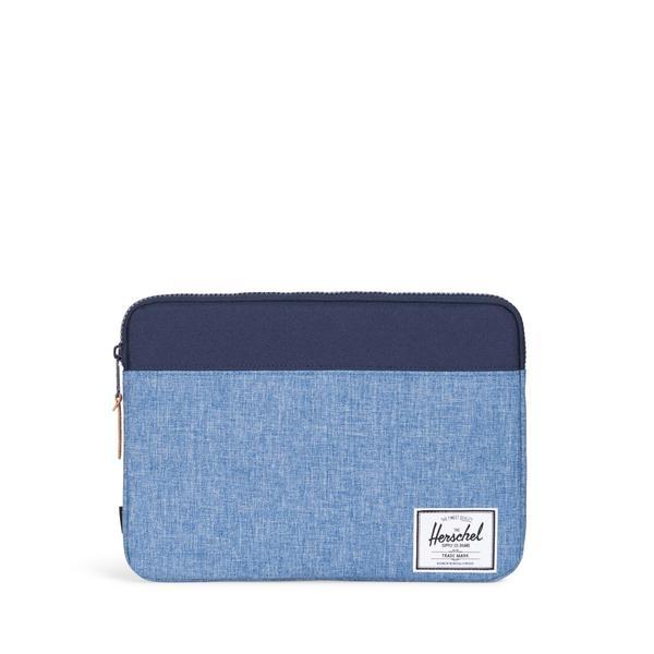 "Pouzdro na Macbook 13"" Herschel Anchor modrý"