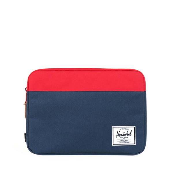 "Pouzdro na Macbook 15"" Herschel Anchor modro červený"