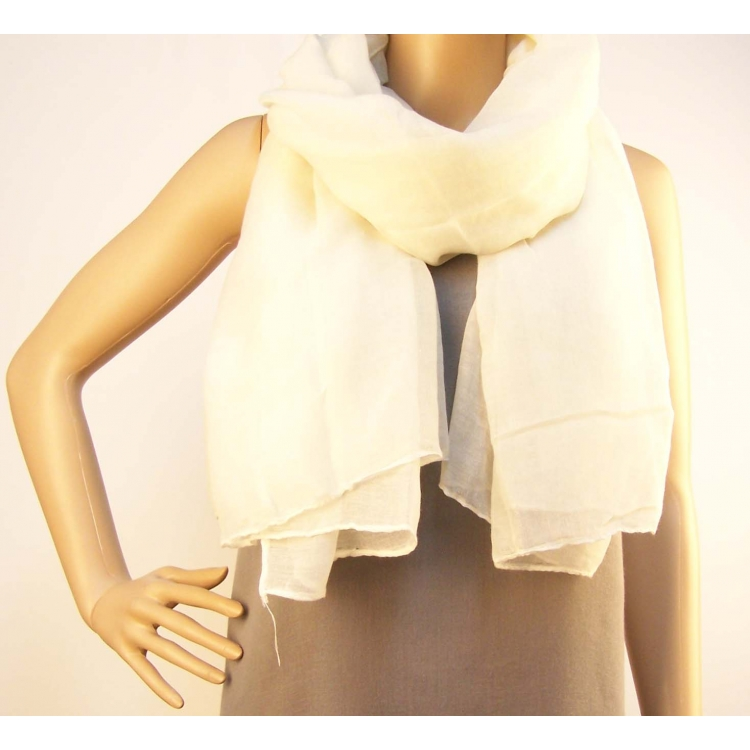 Bílý šátek