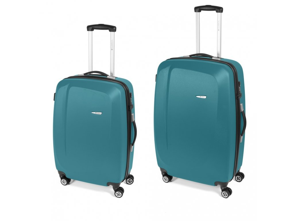 Cestovní sada kufrů Gabol Line turquesa 77+67 cm