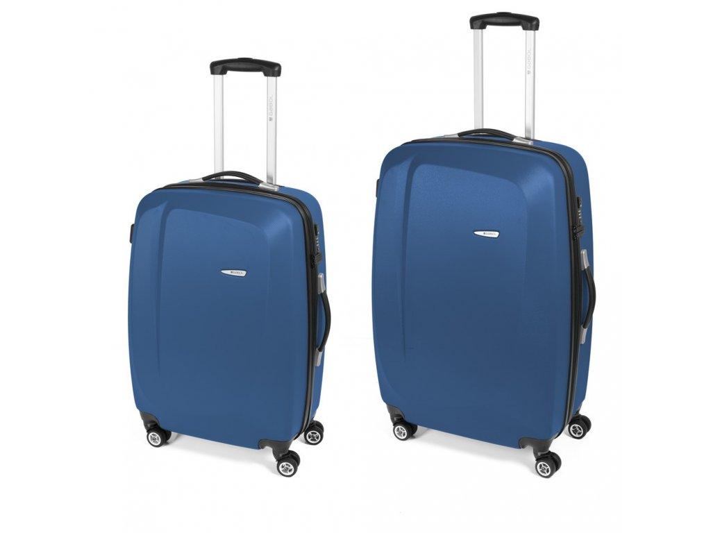 Cestovní sada kufrů Gabol Line azul 77+67 cm