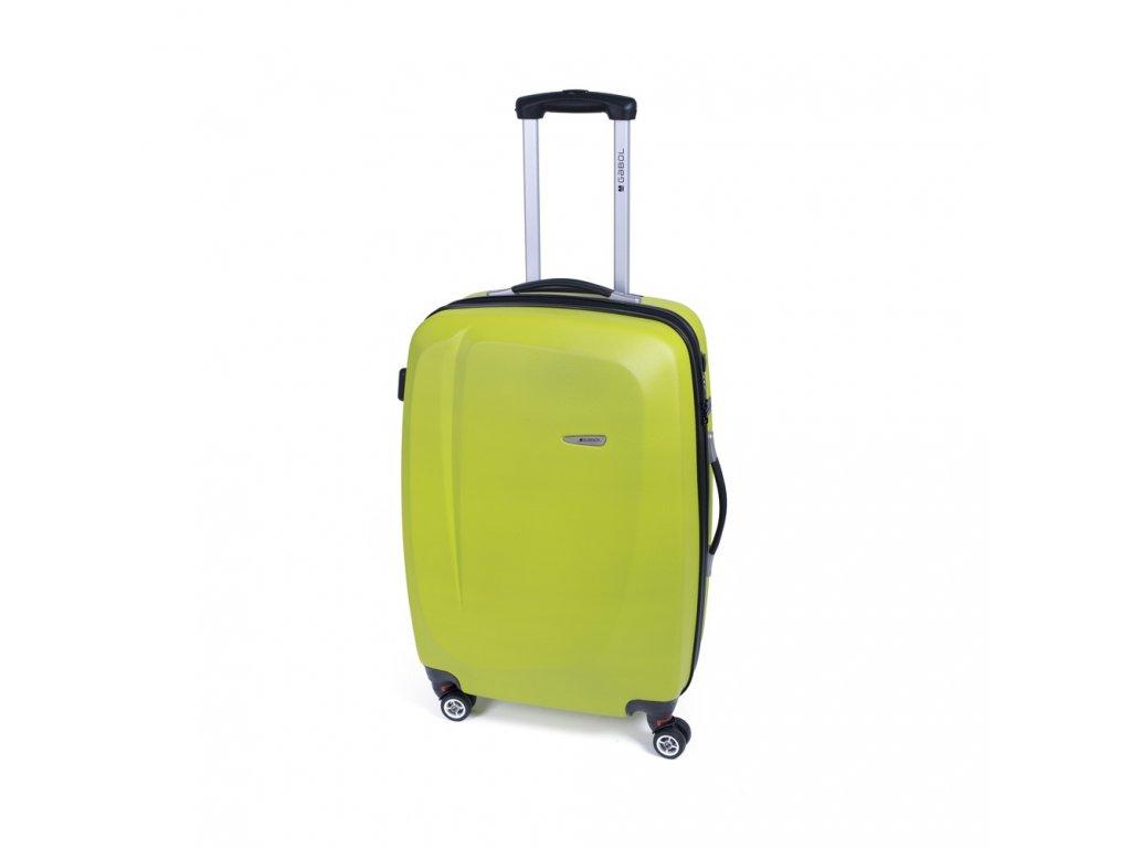 Cestovní kufr Gabol Line pistacho 67 cm