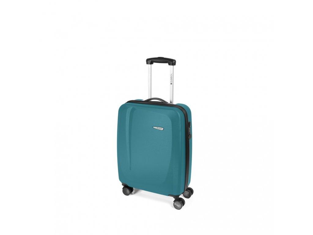 Cestovní kufr Gabol Line turquesa 55 cm