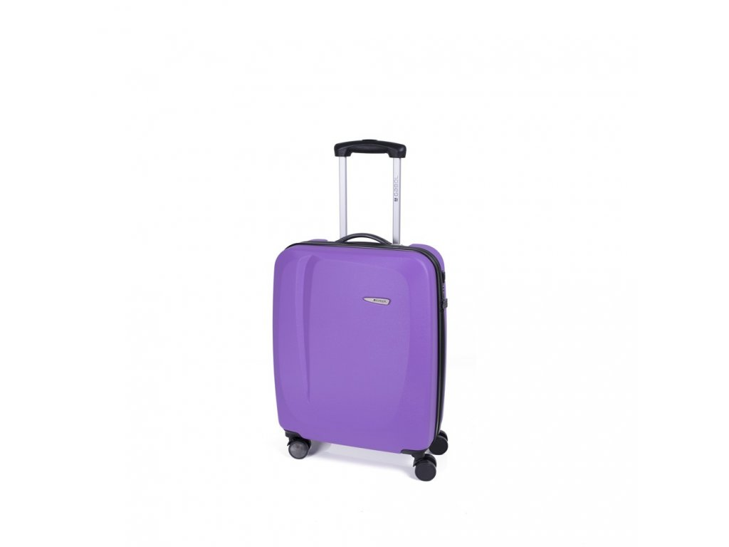 Cestovní kufr Gabol Line malva 55 cm