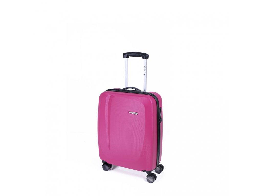 Cestovní kufr Gabol Line fucsia 55 cm