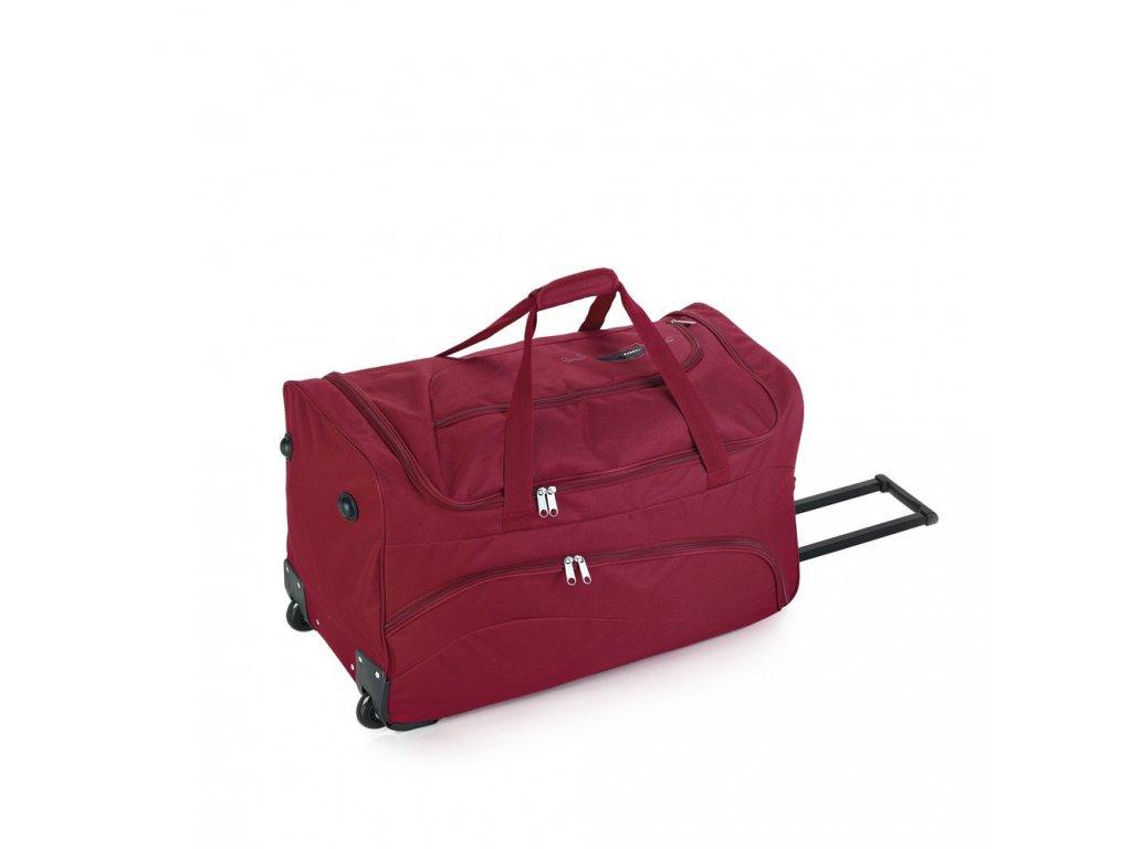 Cestovní taška na kolečkách Gabol Week 100547 87L red