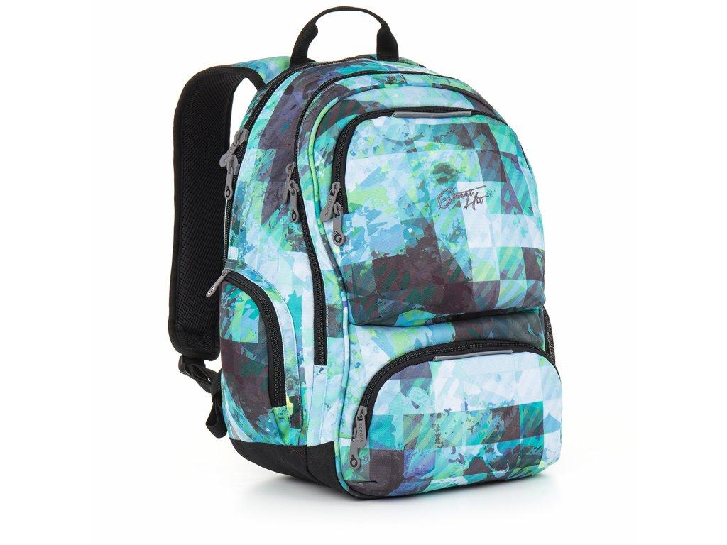 Studentský batoh Topgal HIT 890 D - Blue